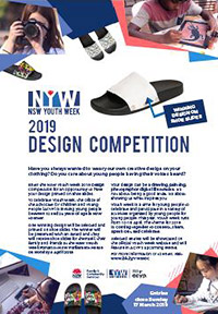 Youth Week 2019 Design Competition poster